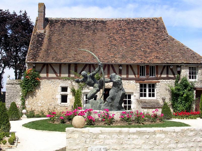Antoine bourdelle image for Le jardin 75015